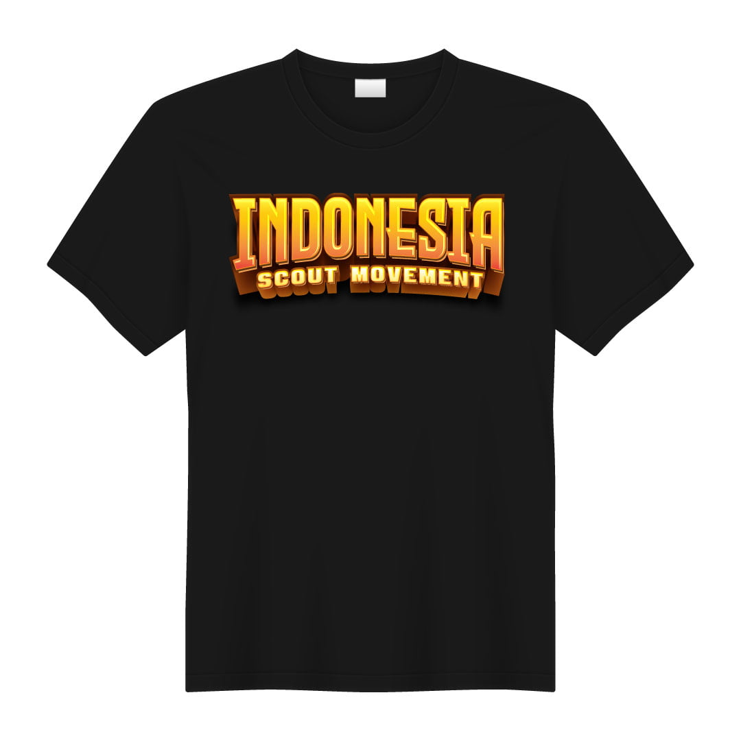 Kaos Indonesia Scout Movement 