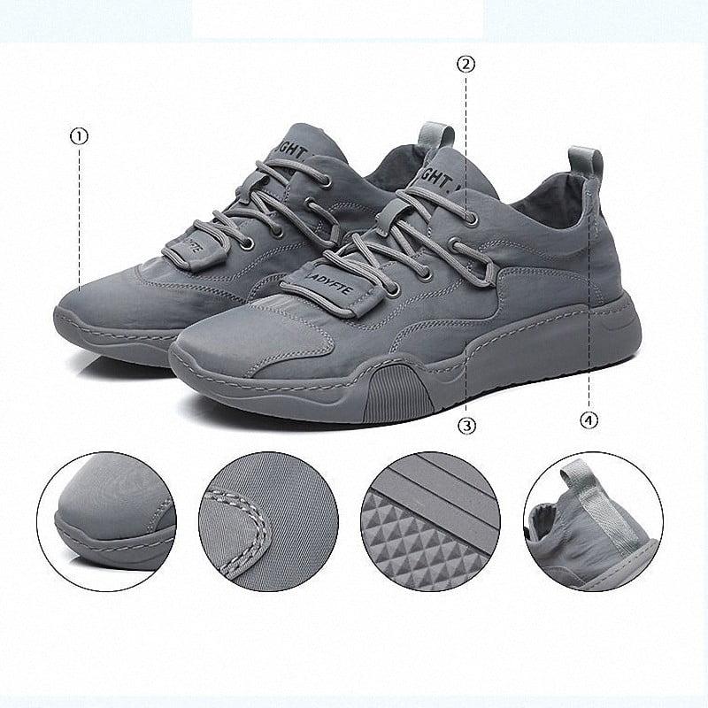 Sepatu Olahraga Pria Casual Sneaker Sepatu Badminton Outdoor Import Running Pria Sport MC101
