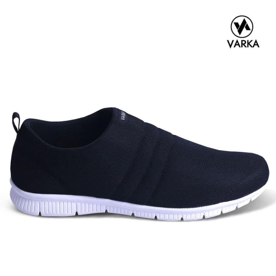 Sepatu SlipOn Pria Varka V 081 Sepatu Kets Kasual Pria Sepatu Santai