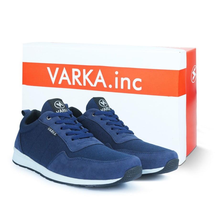 Sepatu Sneakers Pria V 4044 Brand Varka Biru navy