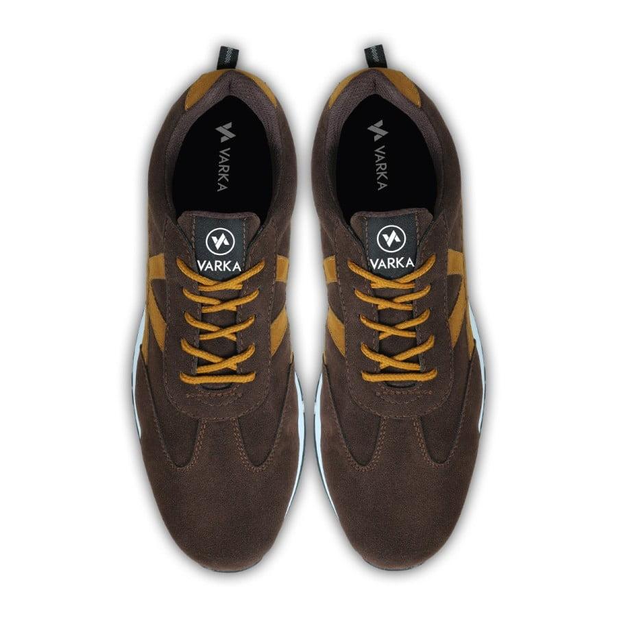Sepatu Sneakers Pria Terbaru V 4131 Cokelat