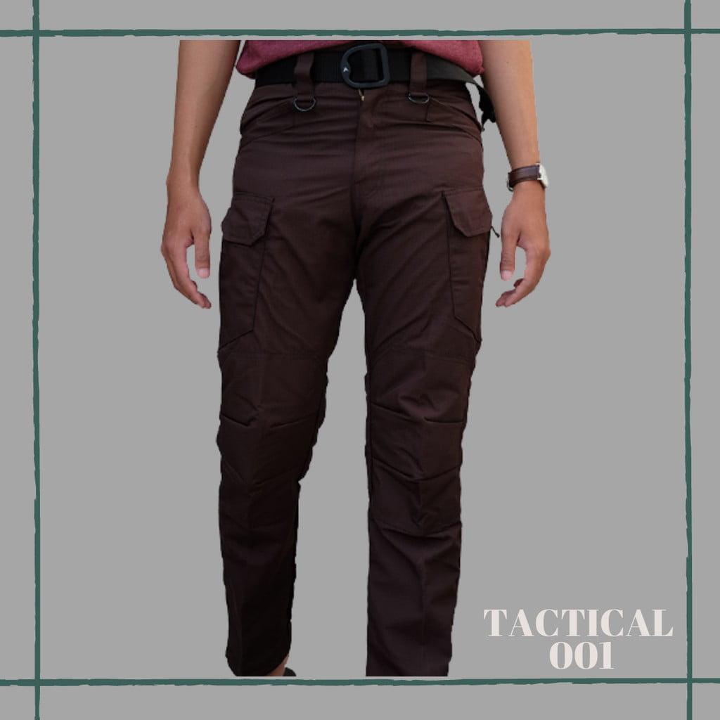Celana Panjang Tactical Blackhawk - Coklat