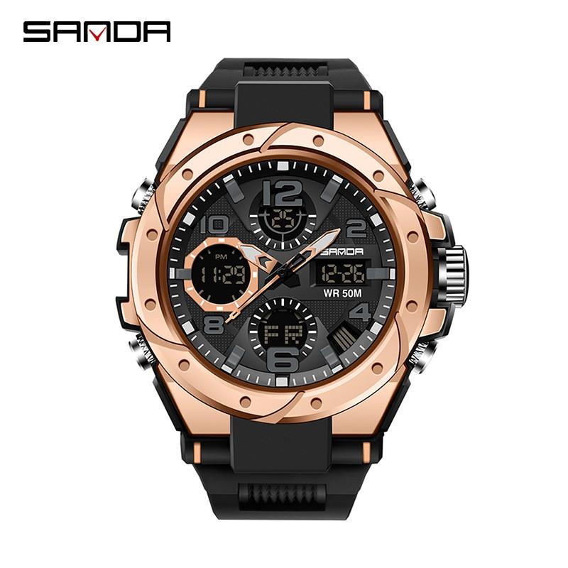 Jam Tangan Pria Digital SANDA 6008