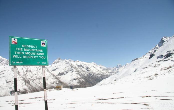 Rohtang Pass Manali Himachal Pradesh