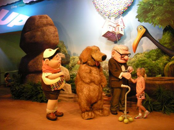 up characters meet and