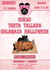Curso Tarta Tallada Halloween