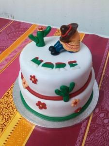 tarta mexicana de dos pisos