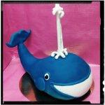 Tarta ballena realizada en RKT