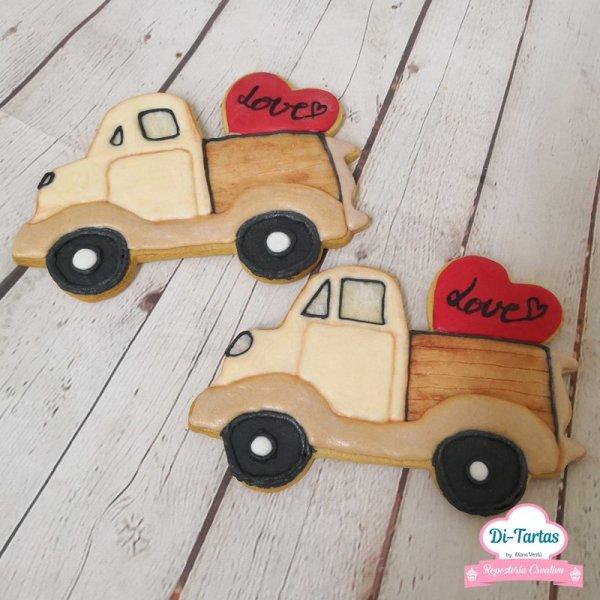 galletas camion amor