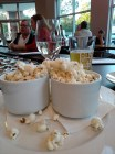 Truffle popcorn at Vintner's Hill