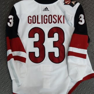 Alex Goligoski Game Worn Jersey
