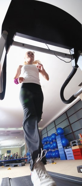 """Learn while you sweat: Try """"treadmill PD"""""""