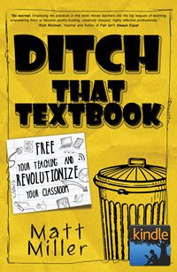 Ditch That Textbook for Kindle