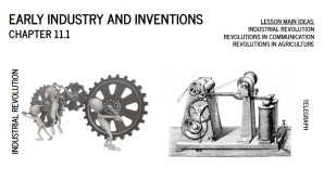 early industry slide deck book