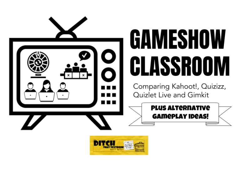Game show classroom: Comparing Kahoot!, Quizizz, Quizlet Live and