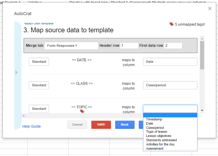 The Magic Automatic Lesson Planner with Google Forms | Ditch That