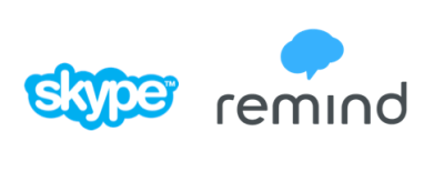 Skype and Remind (remind.com) let us make great connections with students and parents.