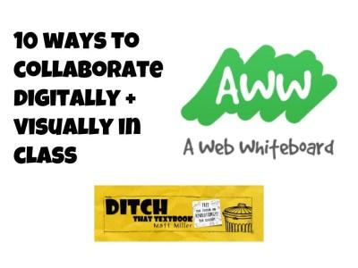 aww a web whiteboard post