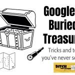 googles buried treasure