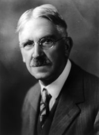 John Dewey. (Image via U.S. Library of Congress)