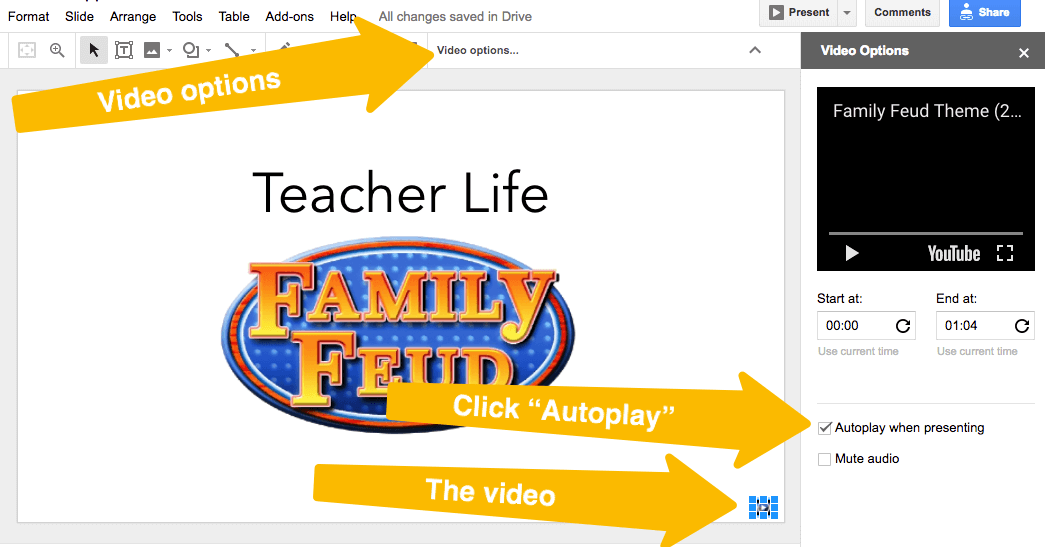 how to add a family feud-style game to your next class/pd | ditch, Powerpoint templates