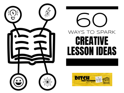 60 tips to spark creative lesson ideas