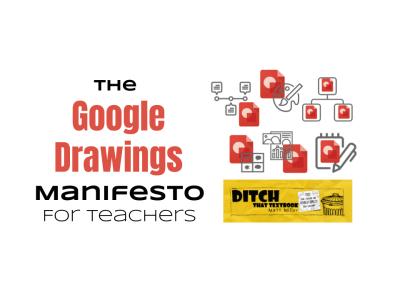 The Google Drawings Manifesto for Teachers