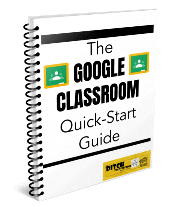 The Google Classroom Quick-Start Guide ebook cover