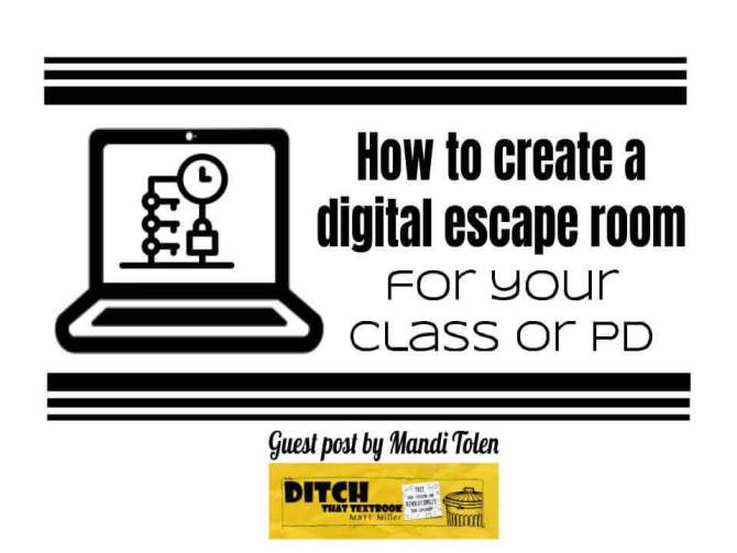 How to create a digital escape room for your class or pd