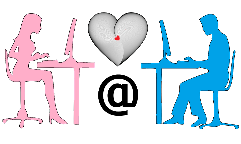 l'Amour sur Internet