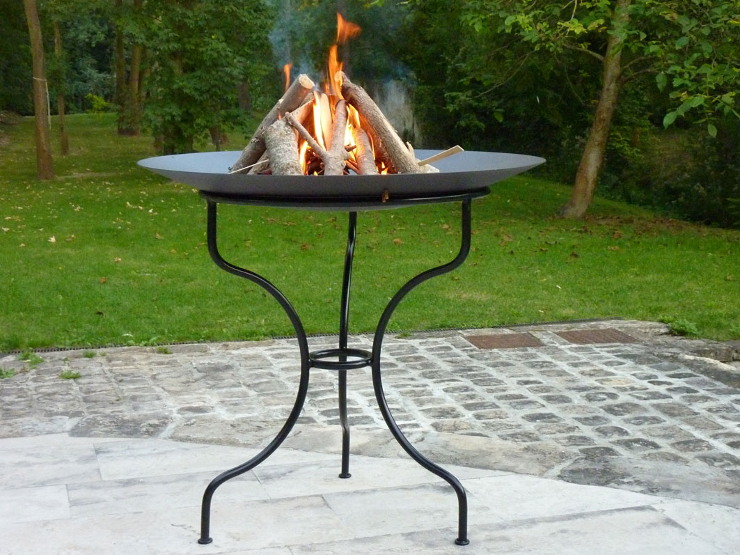 fire bowl coupe a feu lounge brasero dit gai de grez