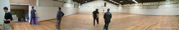 New dojo main room