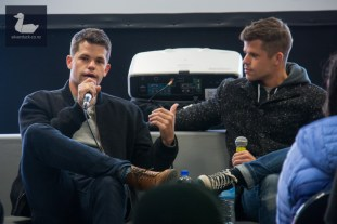 Max & Charlie Carver's Teen Wolf panel.