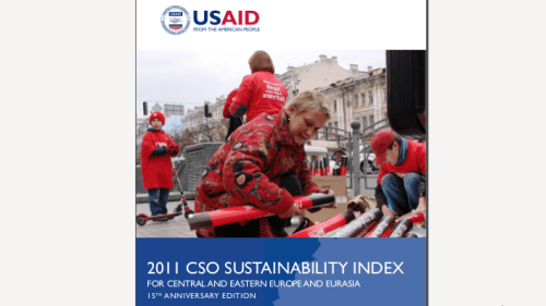 THE 2011 CSO SUSTAINABILITY INDEX FOR CENTRAL AND EASTERN EUROPE AND EURASIA