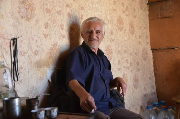 The Traffic Controller of one of Yerevan's Minibus Routes at his office