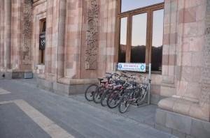 Bike rental in central Yerevan