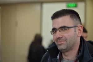 Armenia -- Aleksey Chalabyan, aka Xelgen, at Barcamp Vanadzor, 06Nov2016