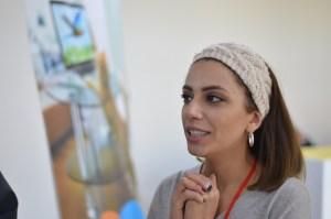 Armenia -- Mariam Nahapetian of Enterprise Incubator Foundation, ArmRobotics manager at Union of Information Technology Enterprises-UITE, at Barcamp Vanadzor, 06Nov2016