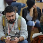 Armenia -- Mikayel Ghazaryan, aka Mk.am, a software architect and web developer and the world's nicest person at Barcamp Vanadzor, 06Nov2016