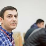 Armenia -- Hayk Avetisyan, a sysadmin, at Barcamp Vanadzor, 06Nov2016