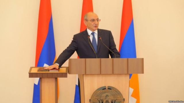 Bako Sahakian sworn in