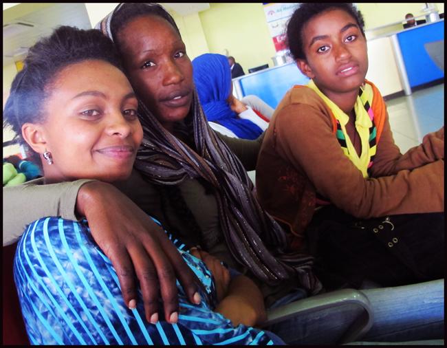 Møte med etiopiske jenter i Nairobi