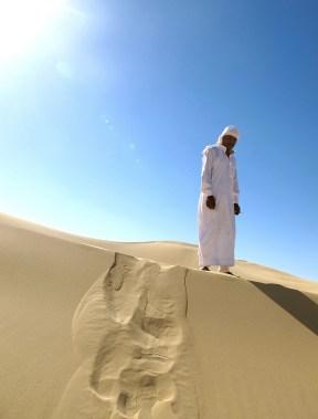 ørken E i sand