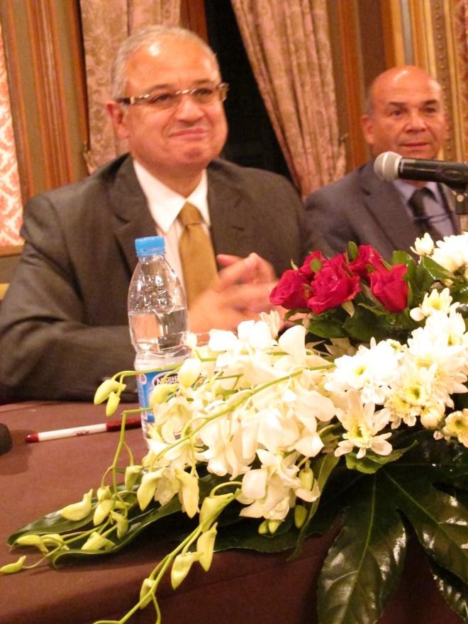 Turistminister Hisham Zazhou