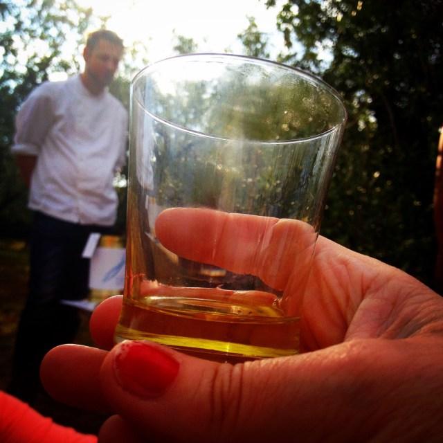 olje i glass