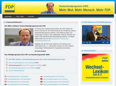 Im Bundestagswahlkamp 2009 total angesagt: Leichte Sprache
