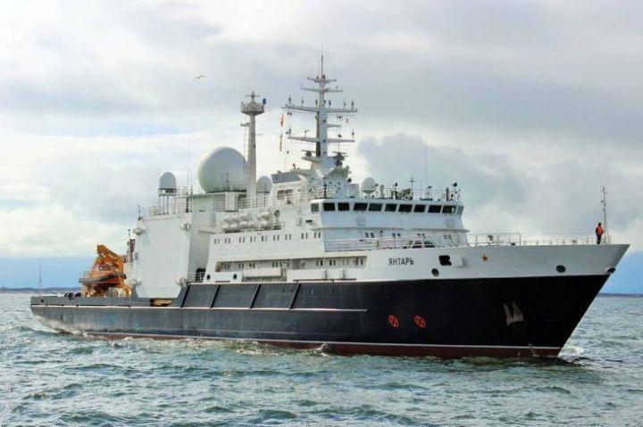 Российский корабль-шпион у берегов США ведет себя аномально