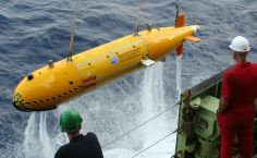 AUV Autosub6000 recovery.
