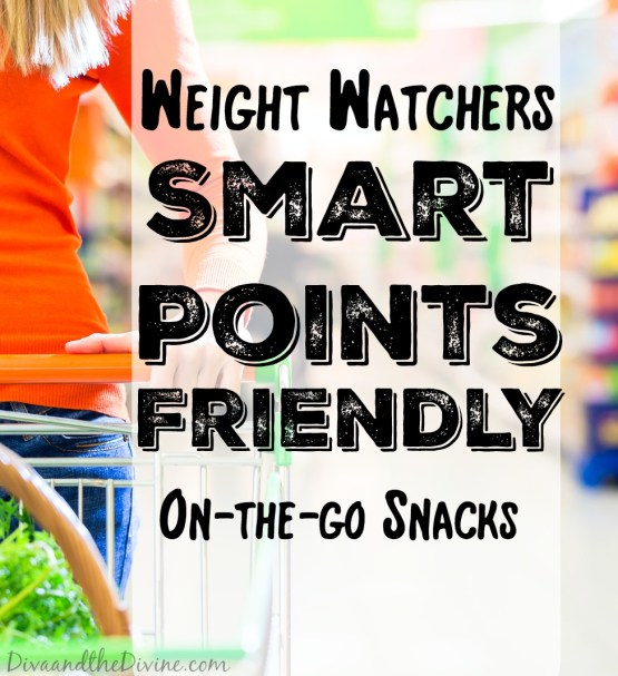 Weight Watchers friendly snacks for the new Smart Points plan.
