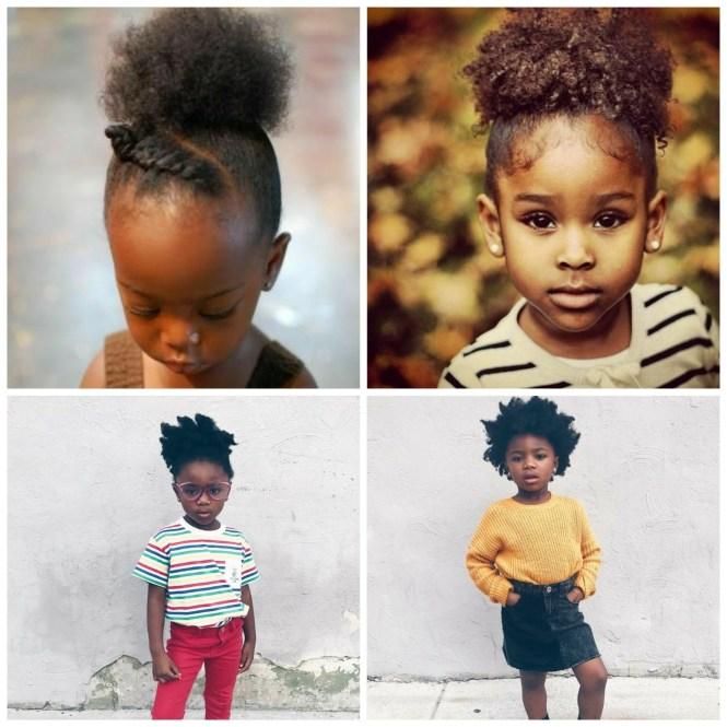 penteados para crianças